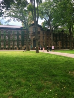 Princeton University's Nassau Hall