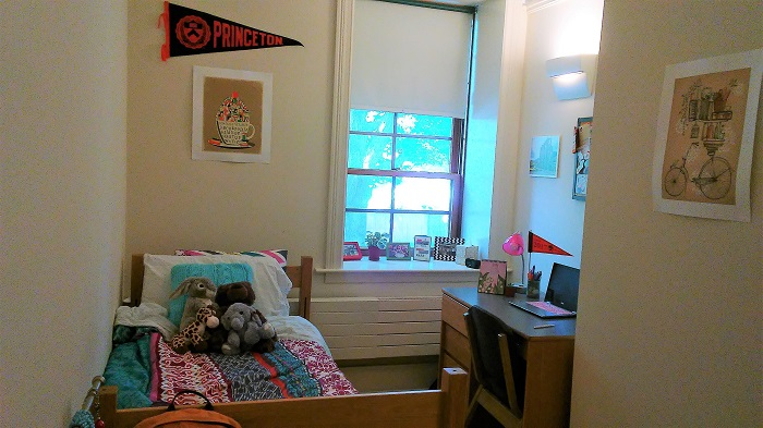 A photo of my dorm in Dod Hall.