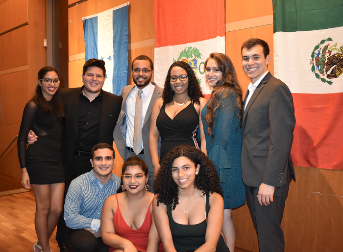 A photo of the Latinx community at Princeton