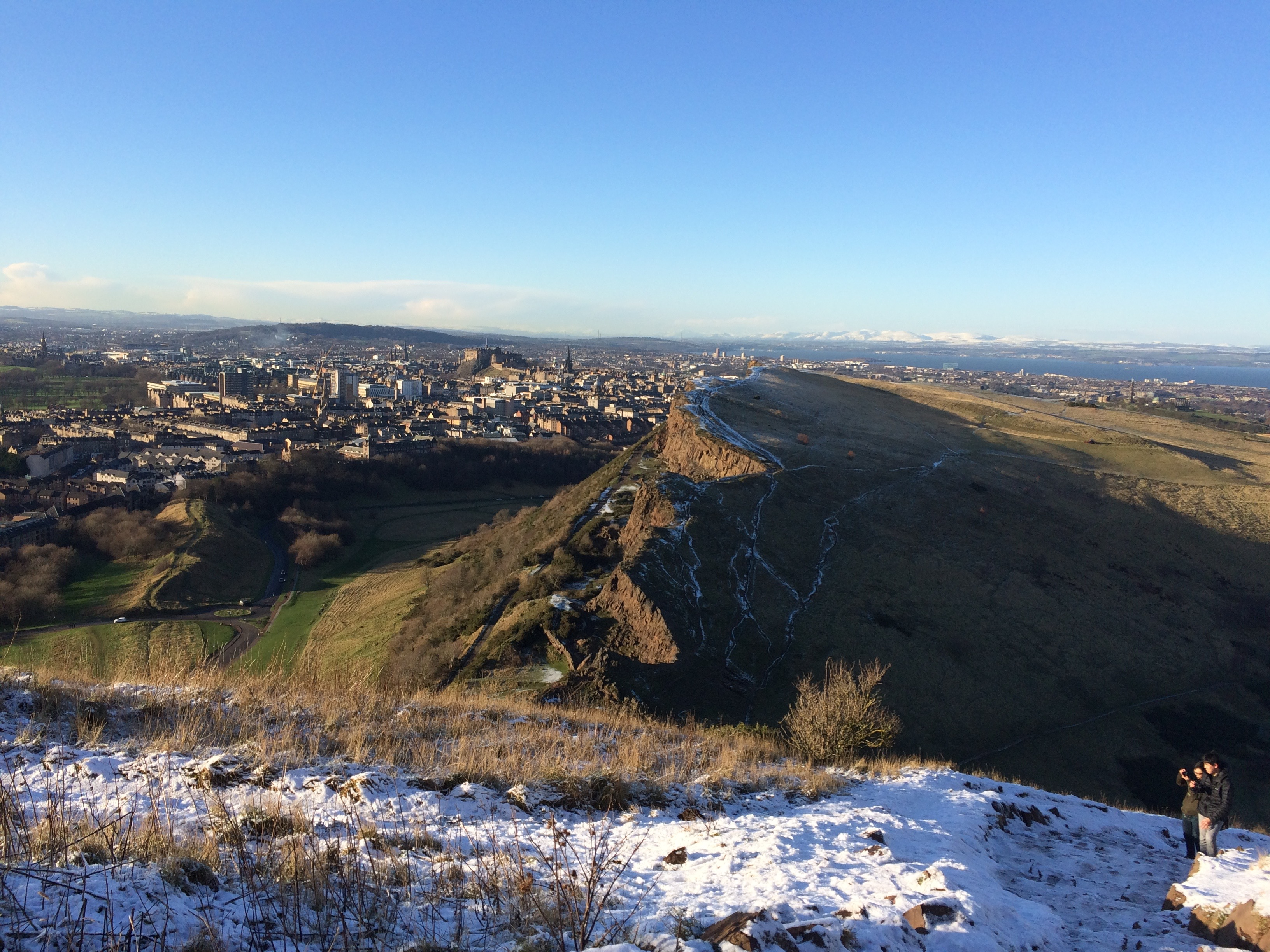 The view from Arthur's Seat