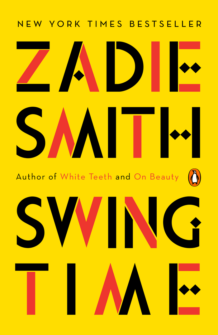 Zadie Smith Swing Time book cover