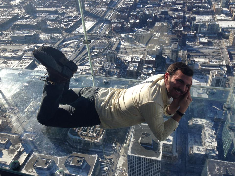 Jake on the Skydeck