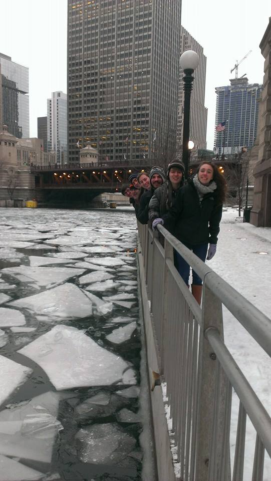 Quipfire by the Chicago River