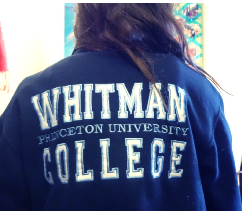 whitman sweatshirt