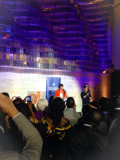 Valerie Jarrett at YALI Reception