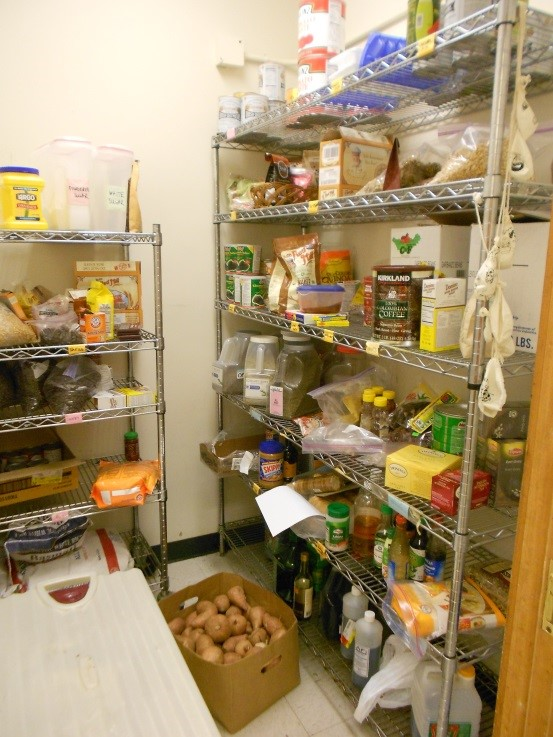 Our pantry: so many possibilities!