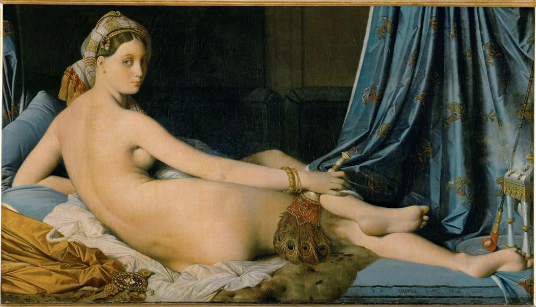 La Grande Odalisque by Ingres