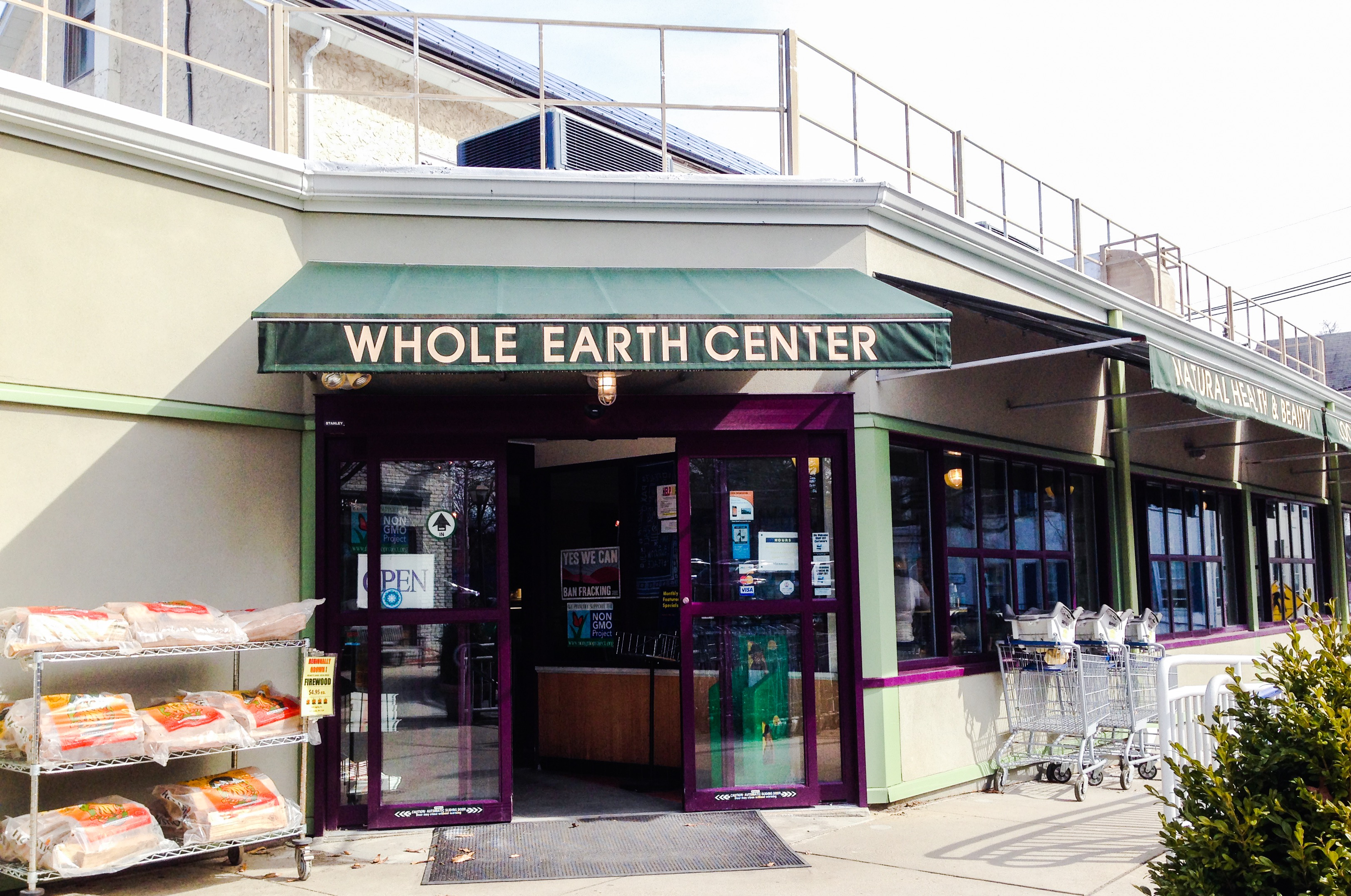 This is a picture of the Whole Earth Center.