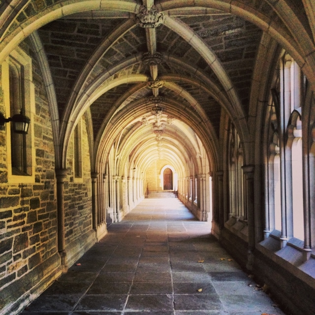 Image of arches near Holder Hall