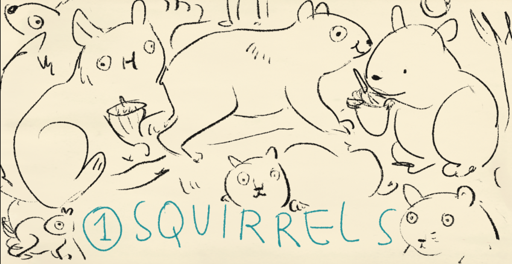 Squirrels!!