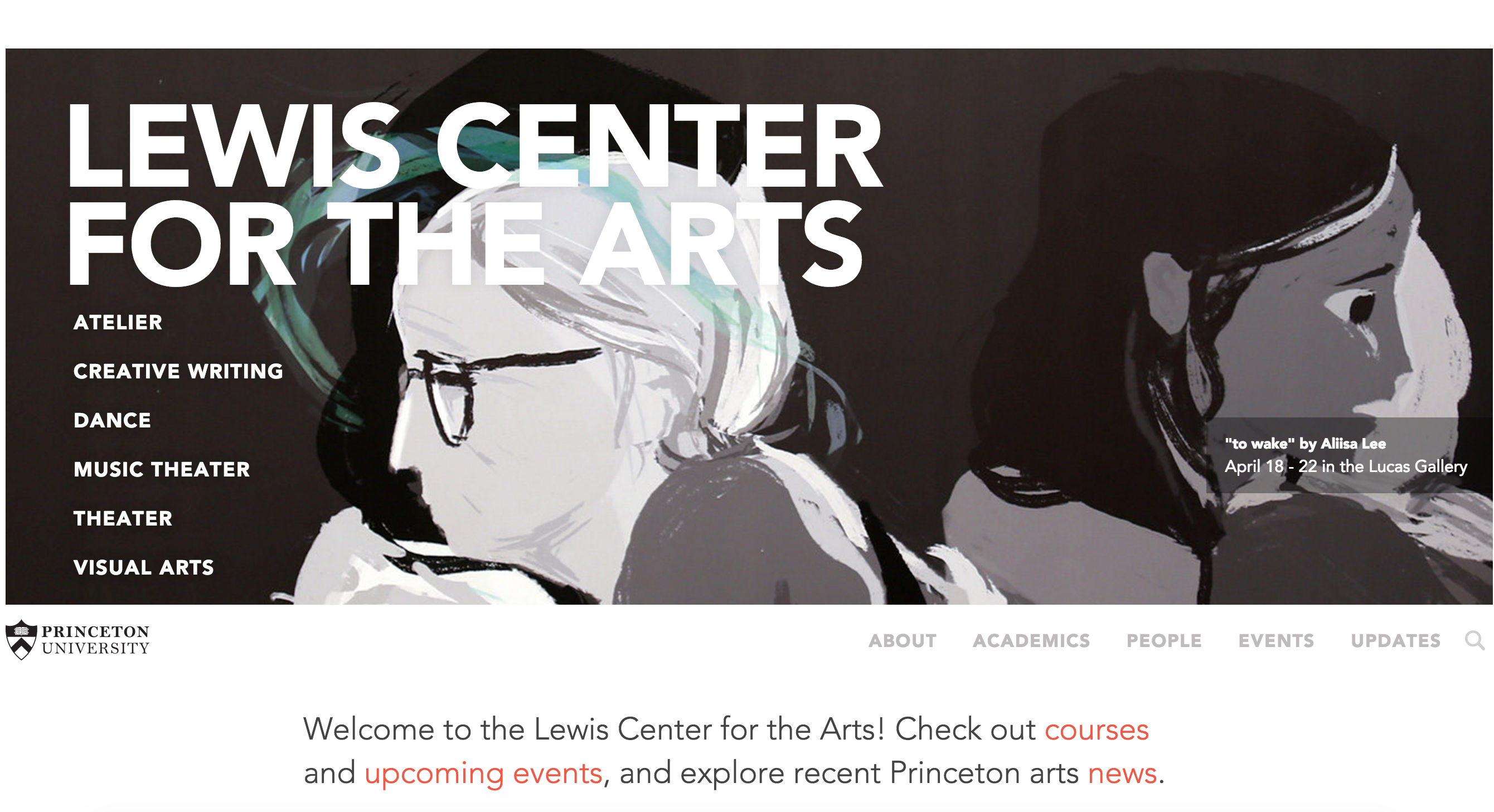 Lewis Center homepage