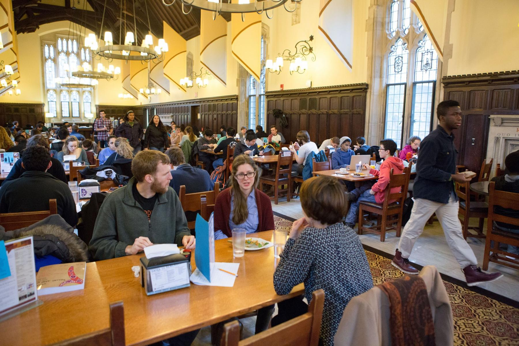 Mathey Dining Hall