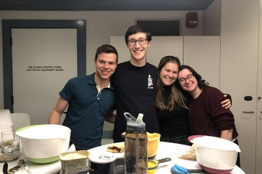 Friends Baking at Princeton