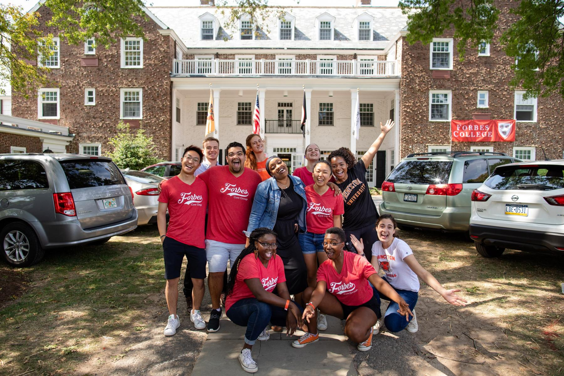 Forbes College move-in day