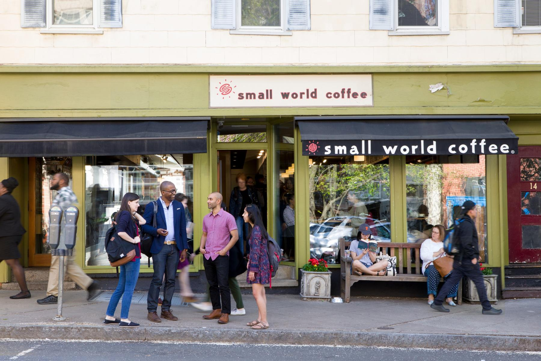 Small World, a coffee shop in Princeton