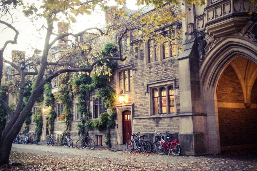 This is a photo of Princeton's campus.