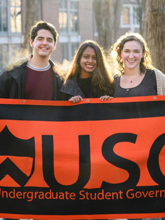 Members of the Undergraduate Student Government