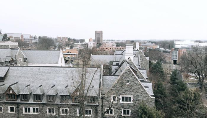 View of Campus from Creative Writing Classroom